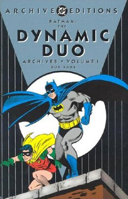 Cover for the Batman: The Dynamic Duo Archives Vol 1 Trade Paperback