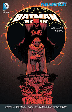 Cover for the Batman and Robin: Pearl Trade Paperback