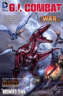 Cover for the G.I. Combat: The War That Time Forgot Trade Paperback
