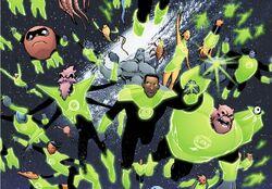 Green Lantern Corps (Smallville) 001
