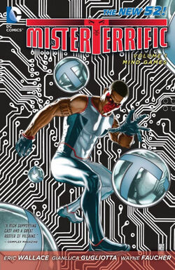 Cover for the Mister Terrific: Mind Games Trade Paperback