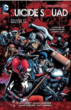 Cover for the Suicide Squad: Walled In Trade Paperback
