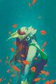 Aquaman Vol 8 10 Textless Variant