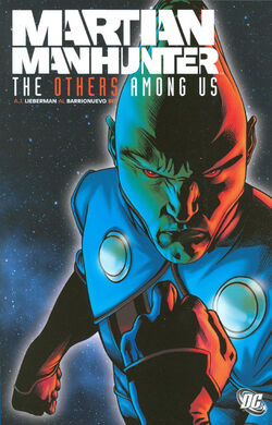 Cover for the Martian Manhunter: The Others Among Us Trade Paperback