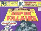 Secret Society of Super-Villains Vol 1 1
