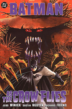 Cover for the Batman: As the Crow Flies Trade Paperback