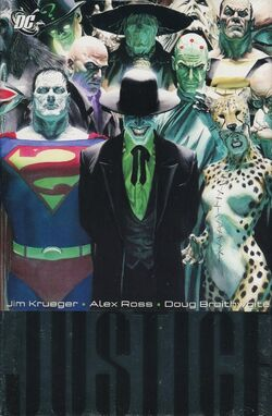 Cover for the Justice Vol. 2 Trade Paperback