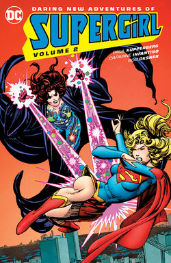 Cover for the Supergirl: The Daring New Adventures Of Supergirl Vol 2 Trade Paperback
