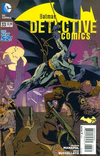 Batman 75th Anniversary Variant by [[Jim Steranko]]