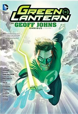 Cover for the Green Lantern by Geoff Johns Omnibus Vol. 1 Trade Paperback