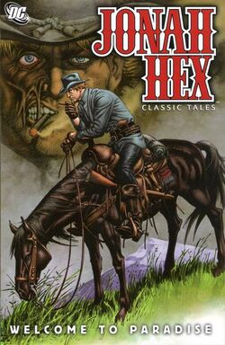 Cover for the Jonah Hex: Welcome to Paradise Trade Paperback