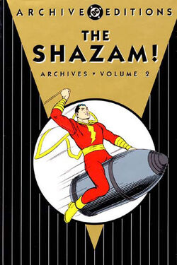 Cover for the The Shazam! Archives Vol. 2 Trade Paperback