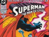 Superman: The Man of Steel Vol 1 24