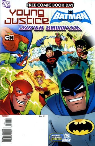 File:Young Justice Batman The Brave and the Bold Super Sampler Vol 1 1.jpg