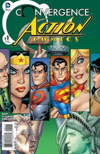 Convergence Action Comics Vol 1 1