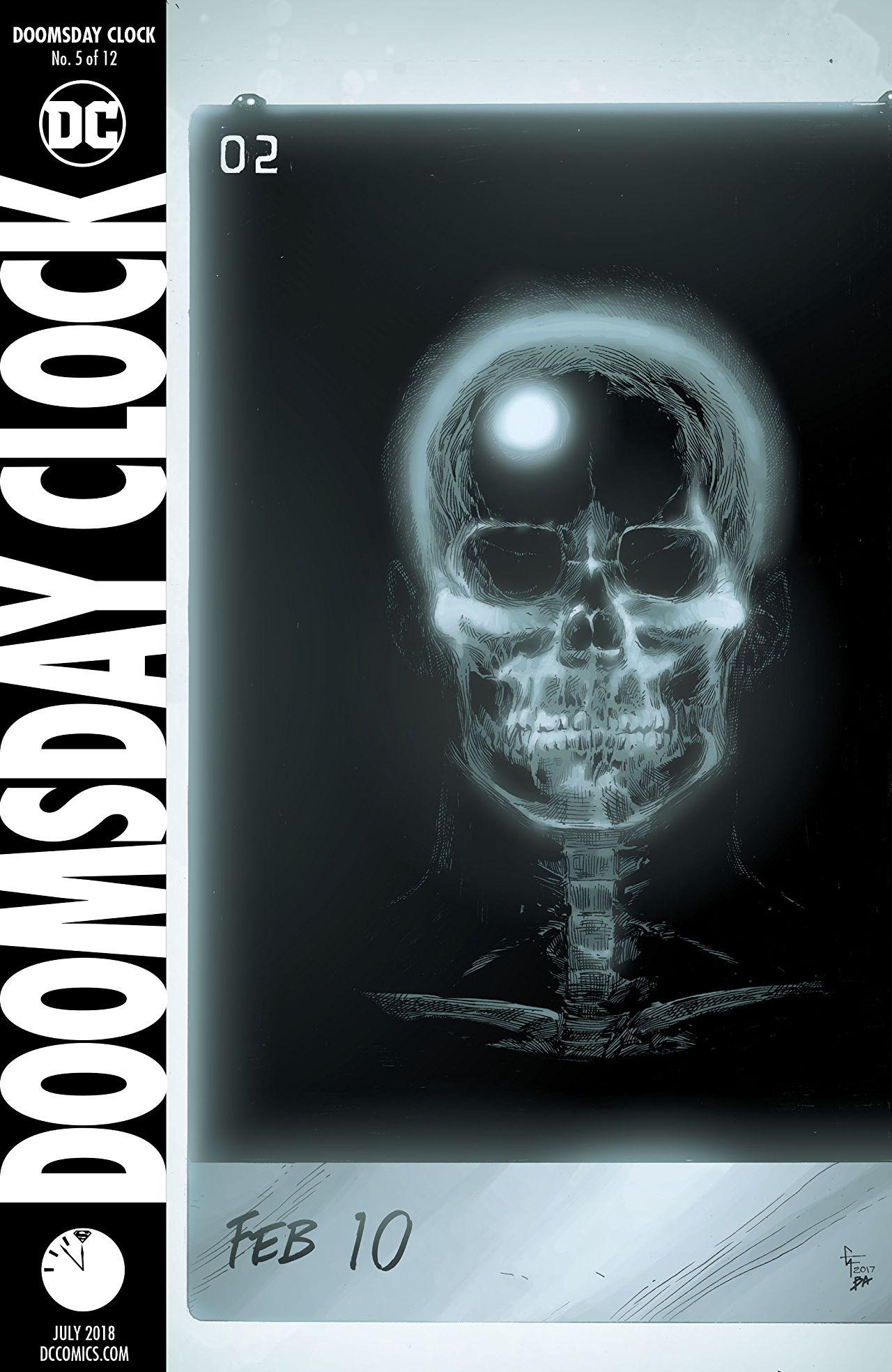 Doomsday Clock Vol 1 5 Dc Database Fandom