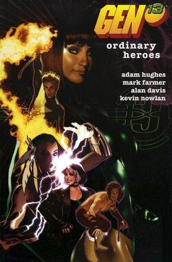 Cover for the Gen 13: Ordinary Heroes Trade Paperback