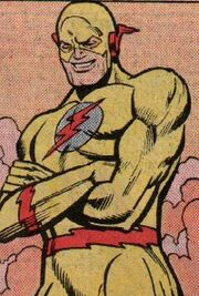 Abra Kadabra as Reverse-Flash