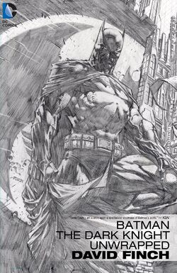 Cover for the Batman: The Dark Knight Unwrapped by David Finch Trade Paperback