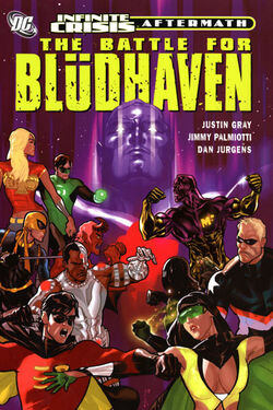 Cover for the Crisis Aftermath: The Battle for Blüdhaven Trade Paperback
