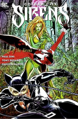 Cover for the Gotham City Sirens: Songs of the Sirens Trade Paperback