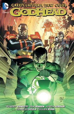 Cover for the Green Lantern/New Gods: Godhead Trade Paperback