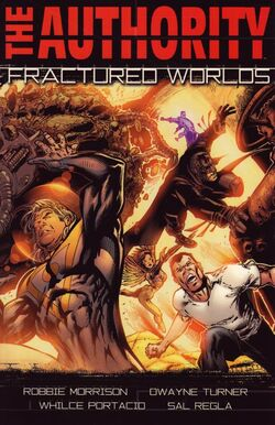 Cover for the The Authority: Fractured Worlds Trade Paperback