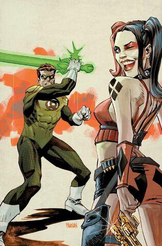 File:Harley Quinn Vol 2 20 Textless Green Lantern 75th Anniversary Variant.jpg