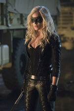 Sara Lance as The Canary.
