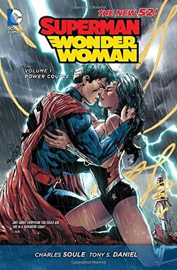 Cover for the Superman/Wonder Woman: Power Couple Trade Paperback