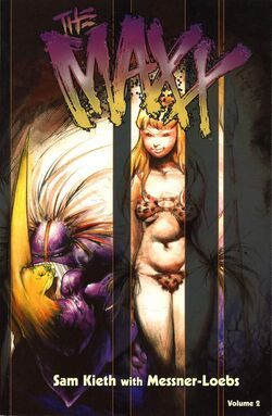 Cover for the The Maxx Vol. 2 Trade Paperback