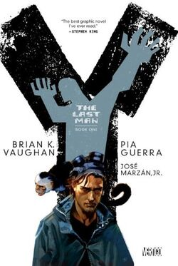Cover for the Y: The Last Man: Book One Trade Paperback