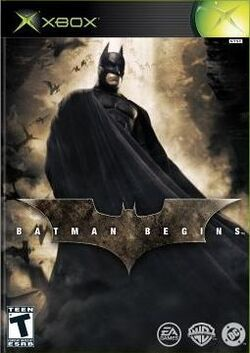 Batman Begins Game Box