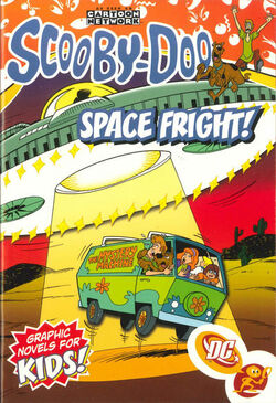Cover for the Scooby-Doo: Space Fright! Trade Paperback