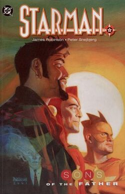 Cover for the Starman: Sons of the Father Trade Paperback
