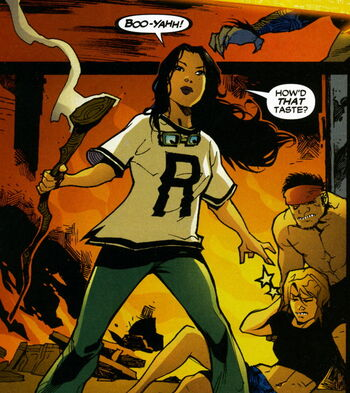 Resultado de imagem para young justice character thirteen