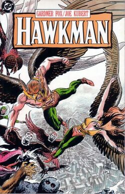 Cover for the Hawkman Trade Paperback