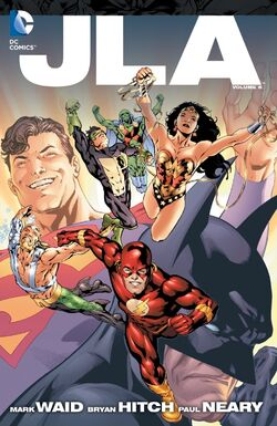 Cover for the JLA Vol. 5 Trade Paperback