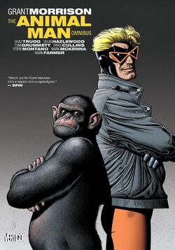 Cover for the Animal Man Omnibus Trade Paperback