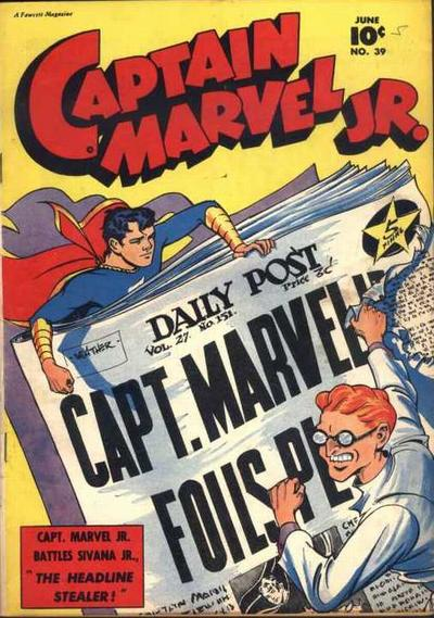 Captain Marvel Jr Vol 1 39 Dc Database Fandom Powered By Wikia