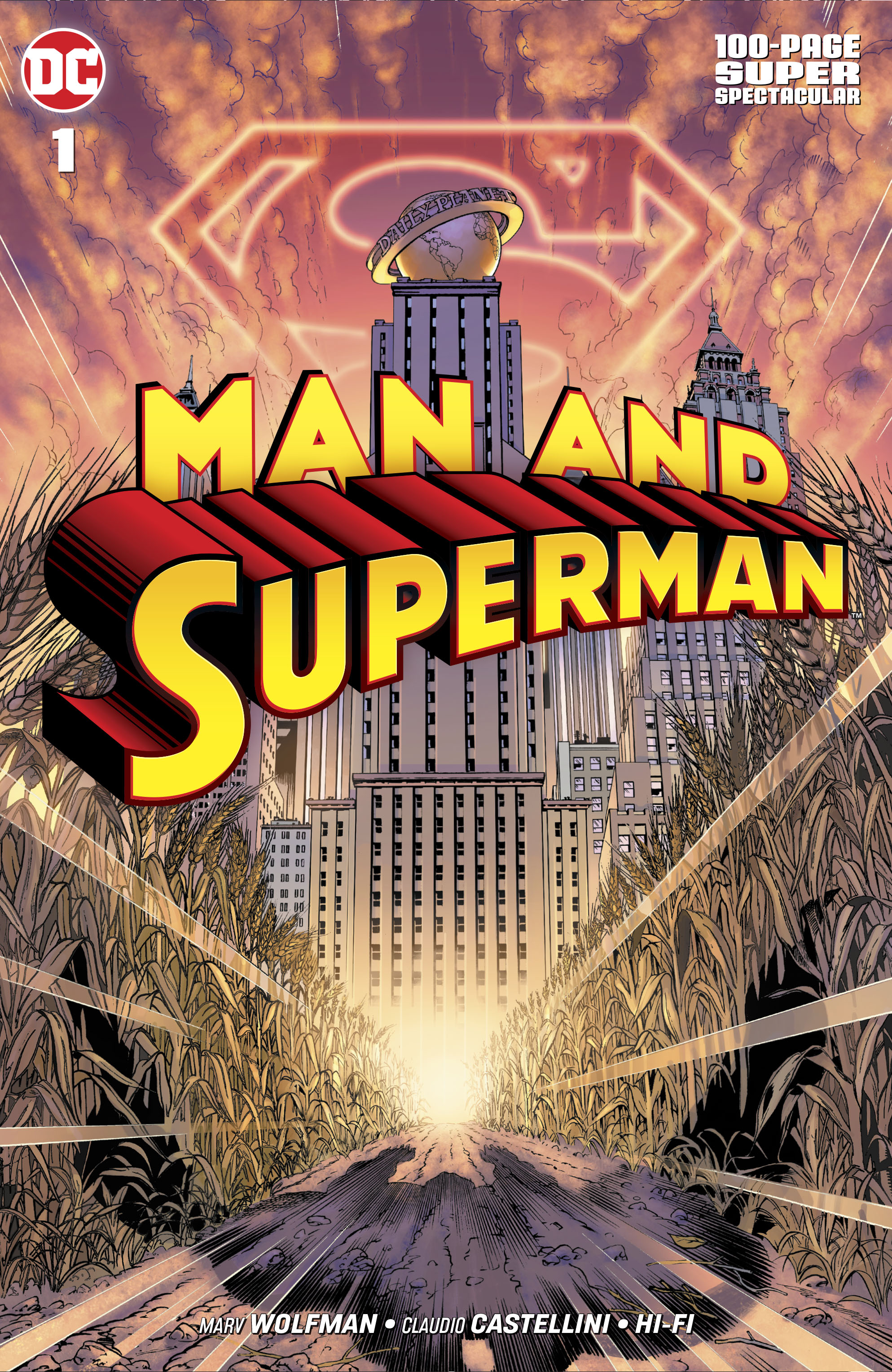 Image result for man and superman wolfman 100 dc wiki synopsis