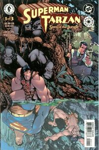 Superman Tarzan Sons of the Jungle Vol 1 1