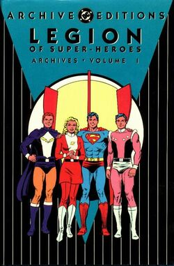 Cover for the Legion of Super-Heroes Archives Vol. 1 Trade Paperback