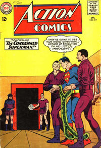 Superman on Lexor -- on death row!