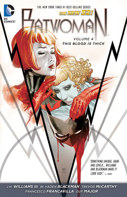 Cover for the Batwoman: This Blood is Thick Trade Paperback
