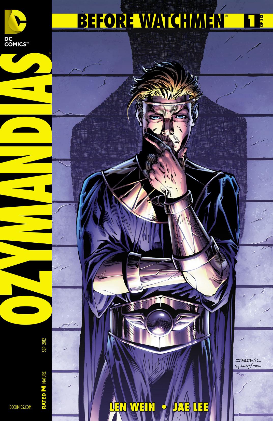Image Before Watchmen Ozymandias Vol 1 1 Variant B Jpg