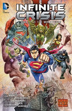 Cover for the Infinite Crisis: Fight for the Multiverse Vol. 2 Trade Paperback