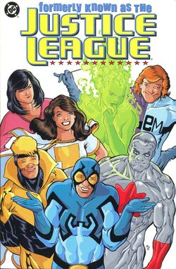 Cover for the Formerly Known as the Justice League Trade Paperback
