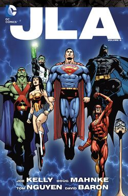 Cover for the JLA Vol. 6 Trade Paperback