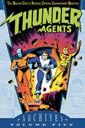T.H.U.N.D.E.R. AGENTS Archives Vol 5